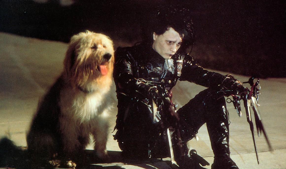EDWARD AUX MAINS D ARGENT Edward Scissorhands Annee 1990 USA JOHNNY DEPP Realisateur Tim Burton usa 1990