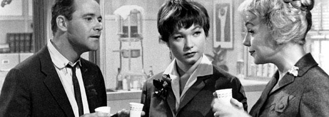 """Imagen de """"El apartamento"""" - Copyright © 1960 Metro Goldwyn Mayer, United Artists y The Mirisch Corporation. Todos los derechos reservados."""