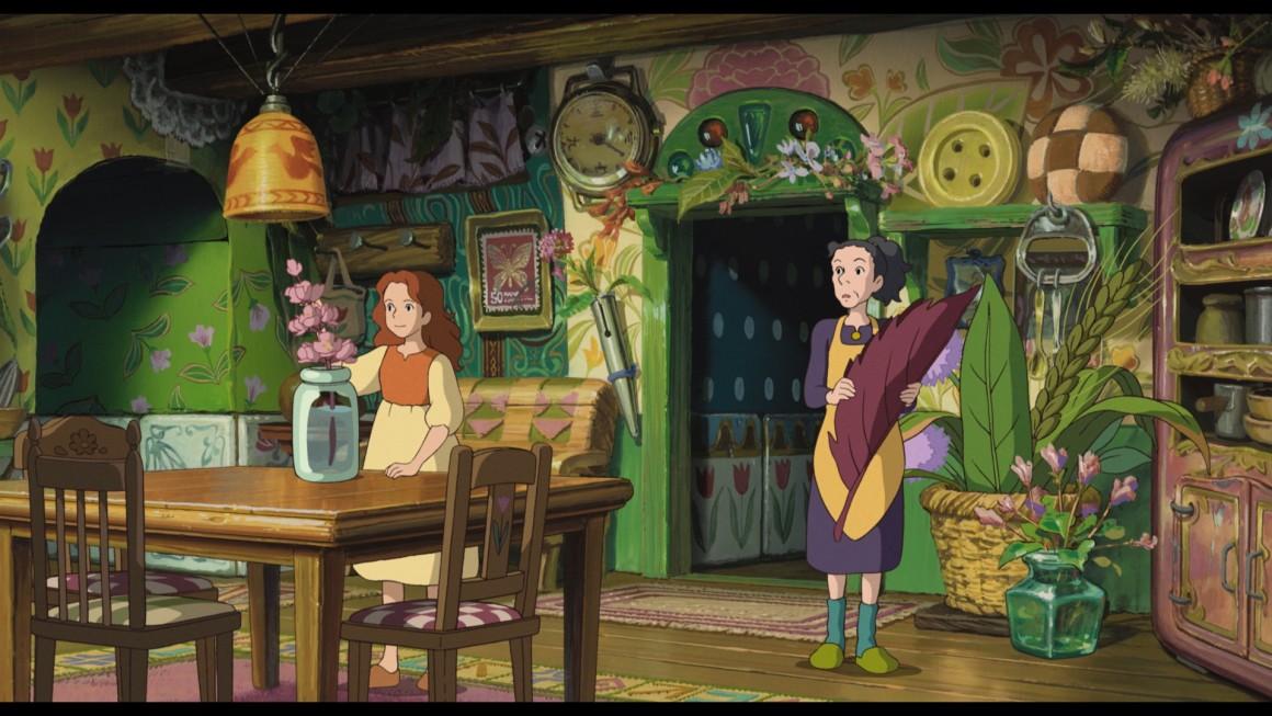 """Imagen de """"Arrietty• © 2010 Studio Ghibli, Dentsu, Hakuhodo DY Media Partners. Distribuida en España por Aurum Producciones. Todos los derechos reservados."""