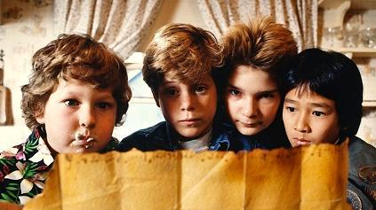 Fotograma de Los Goonies. 1985 – Warner Bros., Amblin Entertainment. Todos los derechos reservados
